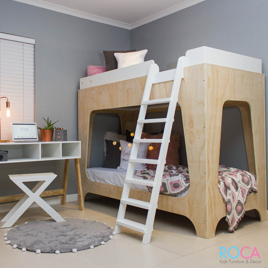 Trendy Modern Childrenu0027s Double Bunk Bed