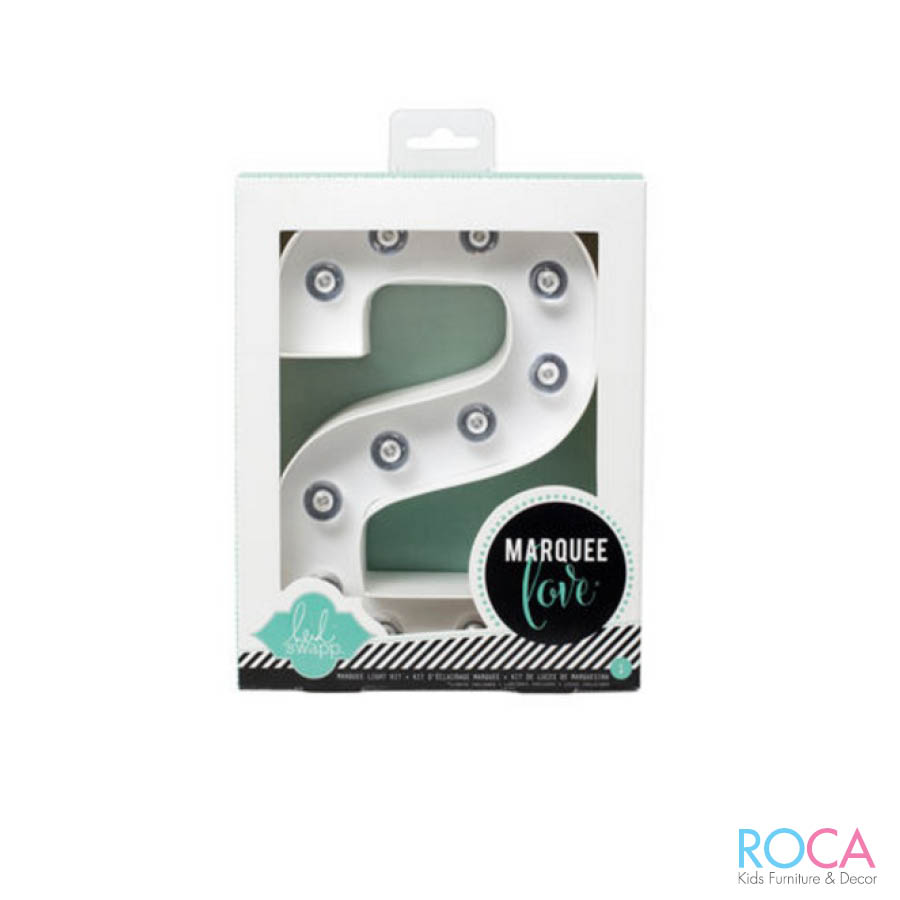 ROCA Kids Bedroom Decor - Cutout letters