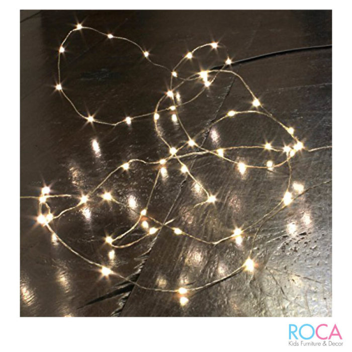 Kids bedroom decor - fairy lights