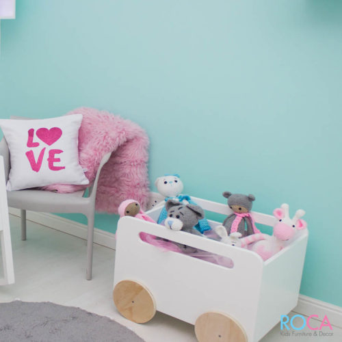 Kids Decor & Storage - Wheelie Box