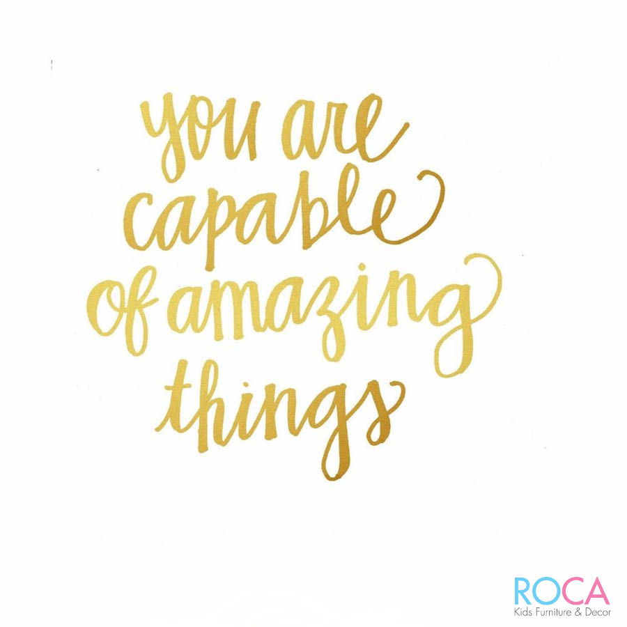 you are capable of amazing things vinyl vin006 roca