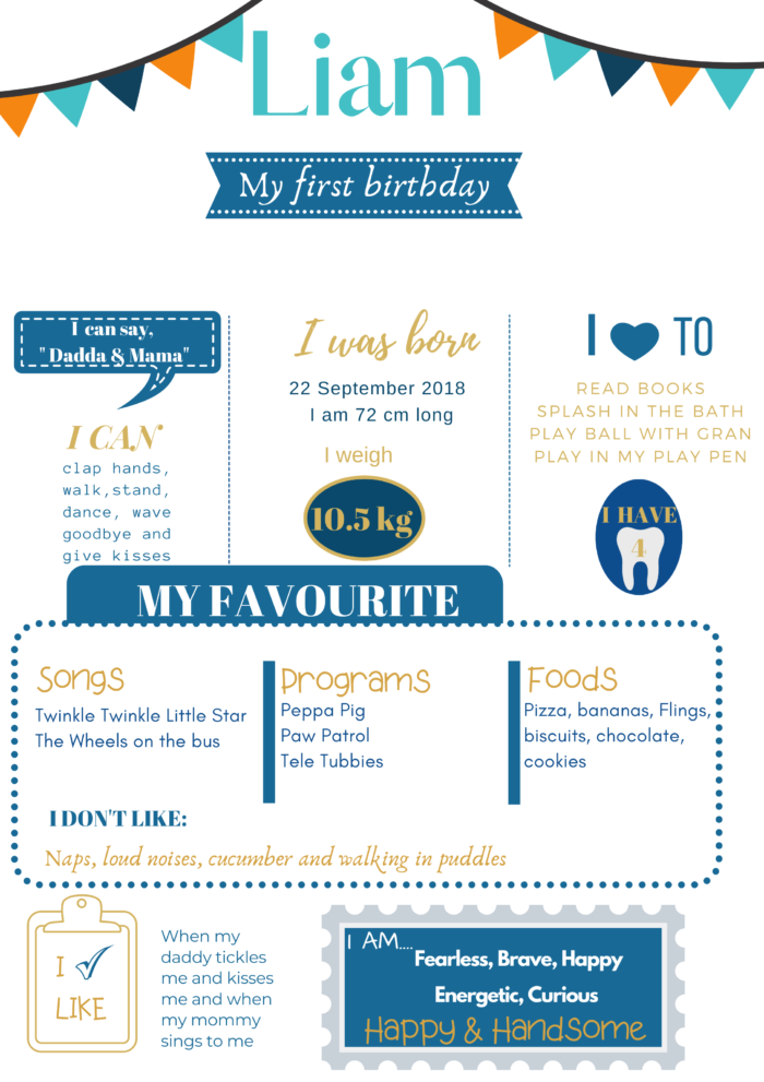 Birth Infographic Poster